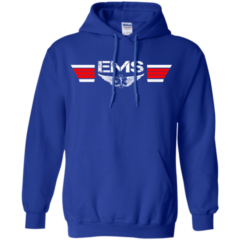 EMS Wings Heavyweight Pullover Hoodie 8 oz