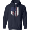Image of Dispatcher Pride Gildan Pullover Hoodie 8 oz.