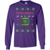 Image of Paramedic Ugly Sweater Gildan Unisex LS Ultra Cotton T-Shirt