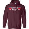 Image of Flight Medic Wings Heavyweight Pullover Hoodie 8 oz