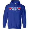 Image of NICU Nurse EMS Wings Heavyweight Pullover Hoodie 8 oz