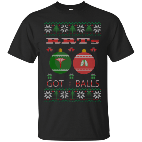 RRTs Got Balls Ugly Sweater Gildan Unisex Ultra Cotton T-Shirt