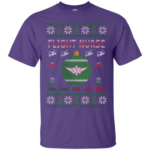 Flight Nurse Ugly Sweater Gildan Unisex Ultra Cotton T-Shirt