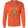 Image of Flight Doc Ugly Sweater Gildan Unisex LS Ultra Cotton T-Shirt