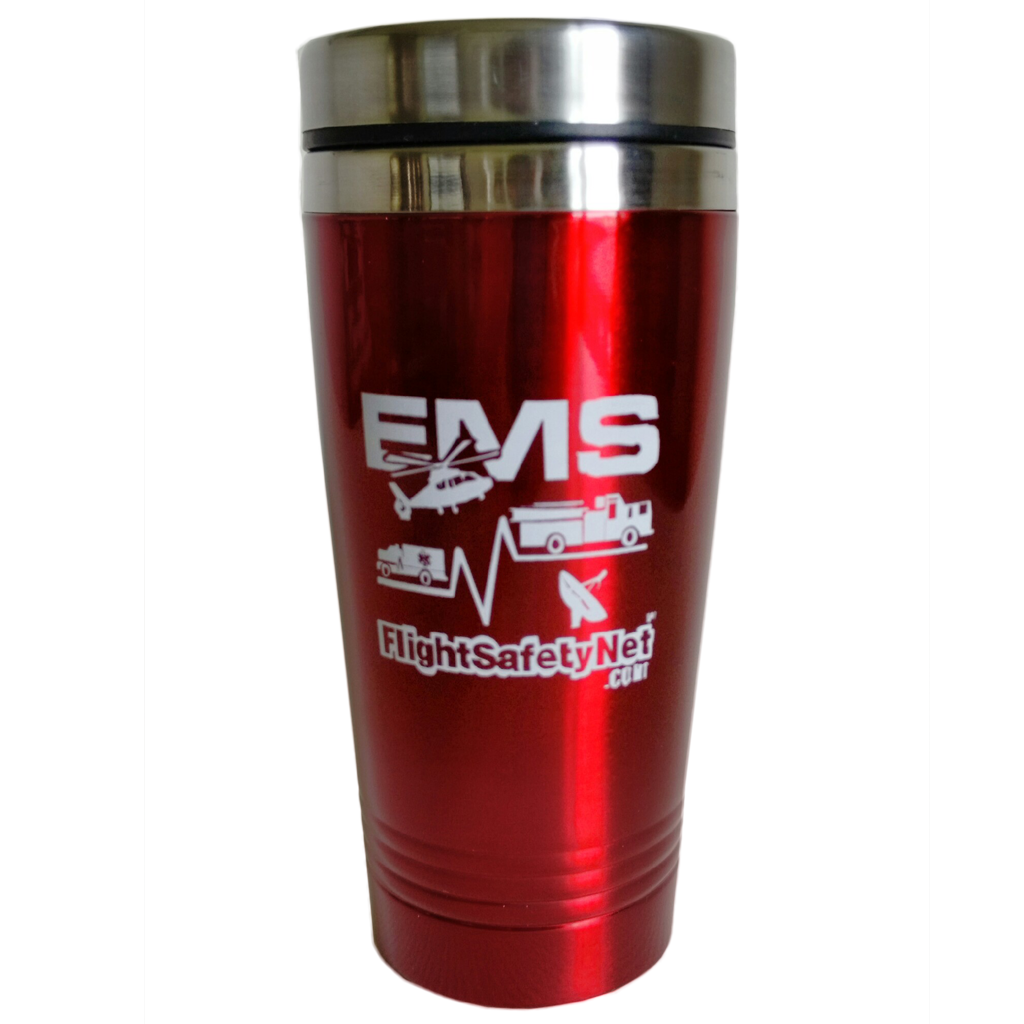 Flight Safety Net Stainless Steel Travel Mug