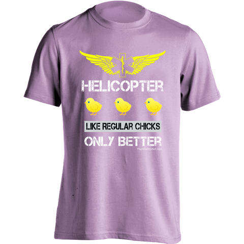 EMS Helicopter Chicks and EMS Wings T-shirt