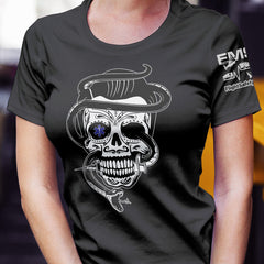 Snake, Skull & Star of Life Unisex T-Shirt