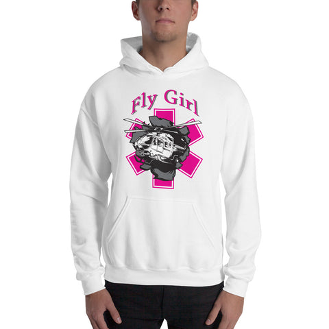 Fly Girl Helicopter Breakout Hoodie