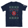 Image of Firefighter Ugly Sweater T-Shirt