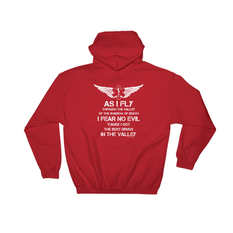 Flight Crew Fear No Evil Hoodies