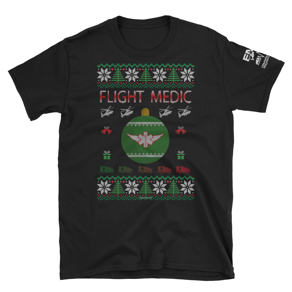 Flight Medic Ugly Sweater T-Shirt