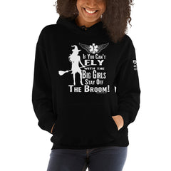 Fly With The Big Girls Unisex Hoodie - 2 Sided Print
