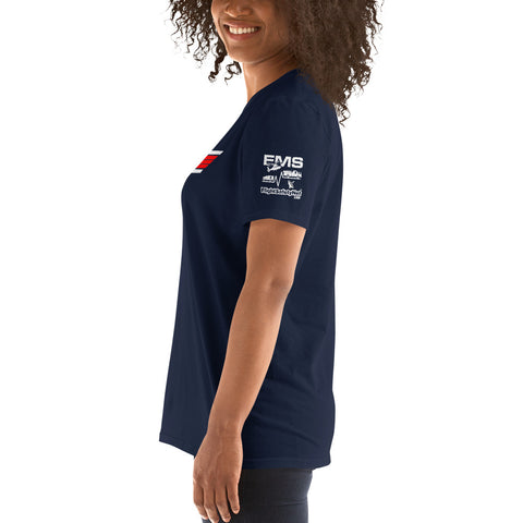 Communications Top Gun Style EMS Wings - Short-Sleeve Unisex T-Shirt