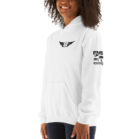 Fly with the Big Girls Hoodie - 3 Sided Print