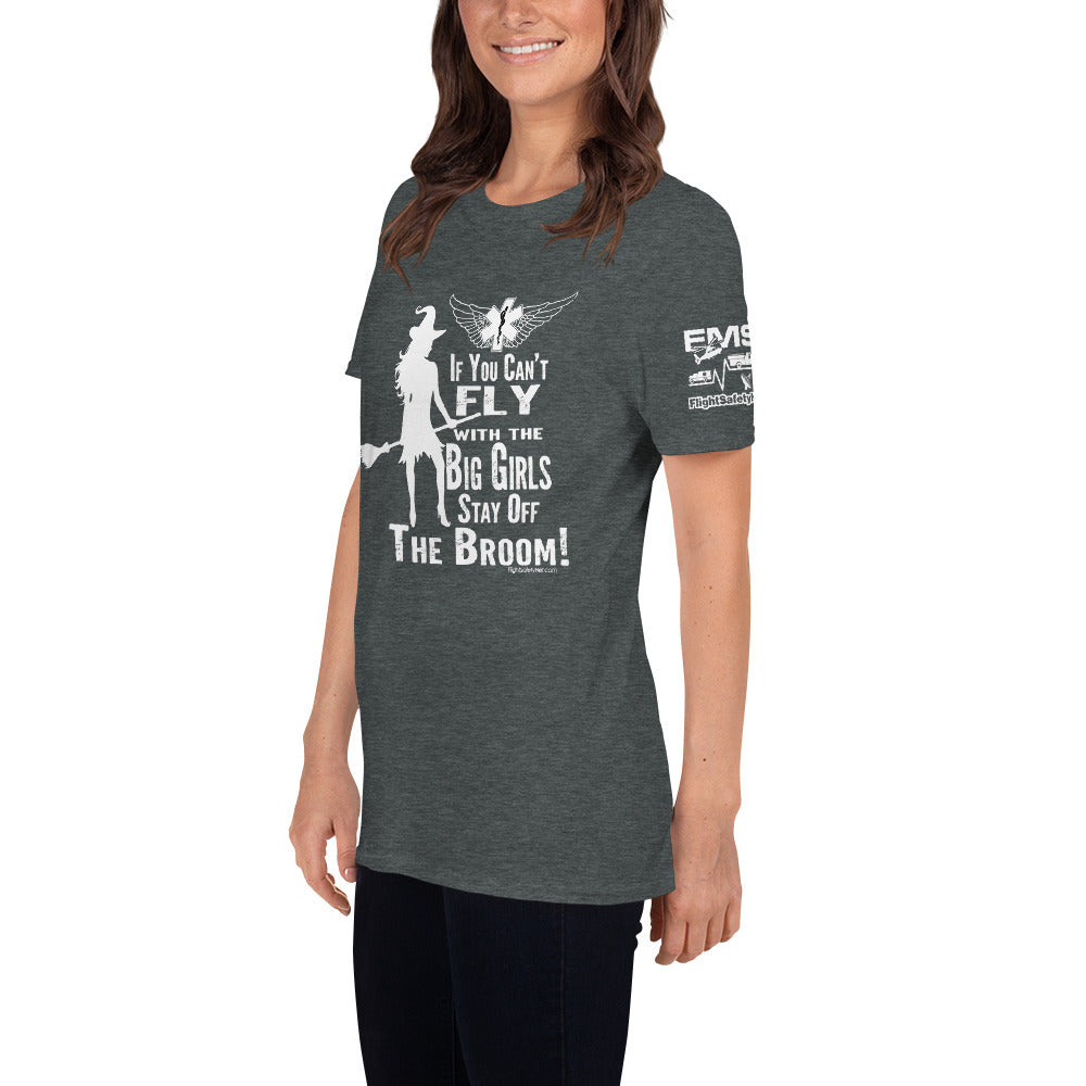 Fly With The Big Girls Unisex T-Shirt - 2 Sided Print