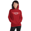 Image of Flight Nurse - Top Gun Style EMS Wings - Short-Sleeve Unisex Hoodie