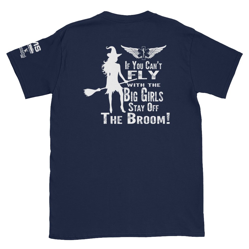 Fly With The Big Girls T-shirt - 3 Sided Print