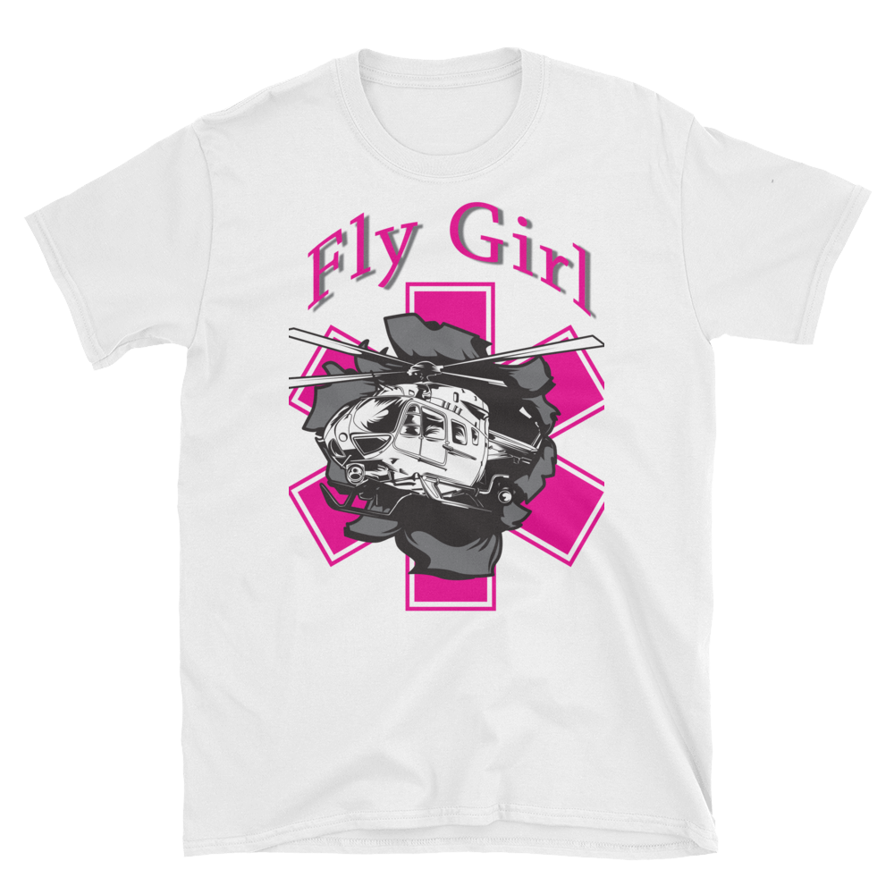 Fly Girl Helicopter Breakout T-Shirt