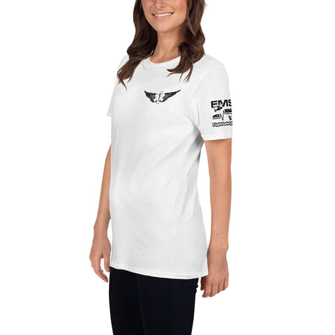 Fly with the Big Girls Short-Sleeve T-Shirt - 3 Sided Print