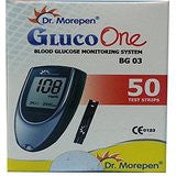 Dr. Morepen BG 03 50 Test Strips(Only Test Strips)