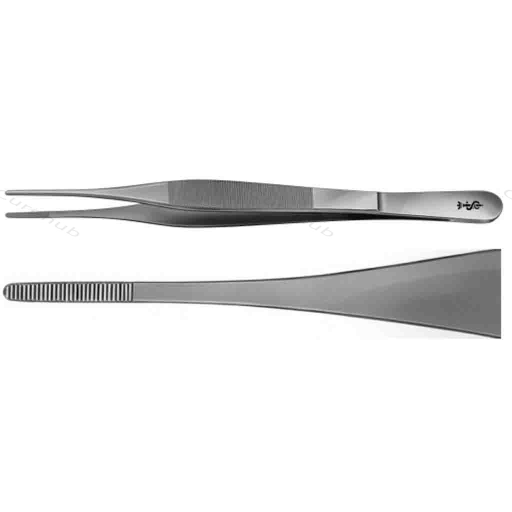 Adson Dissecting Forcep 7' Plain Toothed