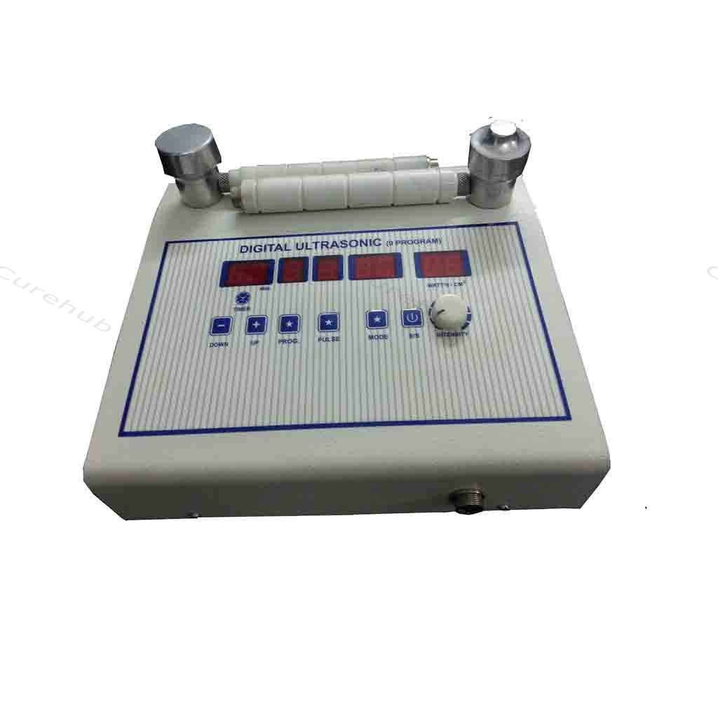 Acco Physiotherapy Ultrasound Therapy Unit 1Mhz 9 Programs With Two Heads AMP-03US12A