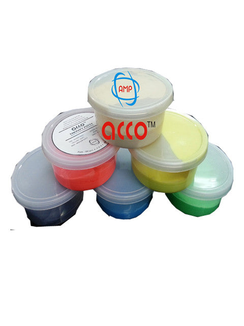 Acco Therappy Exercise Putty (100grms)(Set of Six)AMP-034202