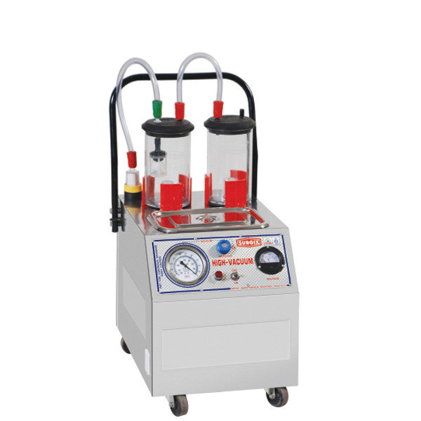 Suction Machine Super High Vacuum S.S. Code: ASI 205
