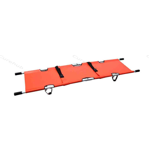 Aluminum 2 Fold Stretcher With Belt