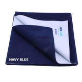 Cozymat Soft, Waterproof And Reusable Fabric Large - Navy Blue