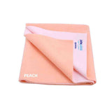 Cozymat Soft, Waterproof And Reusable Fabric Medium - Peach