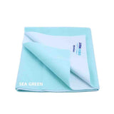 Cozymat Soft, Waterproof And Reusable Fabric Medium - Sea Green