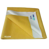 Cozymat Soft, Waterproof And Reusable Fabric Medium - Yellow