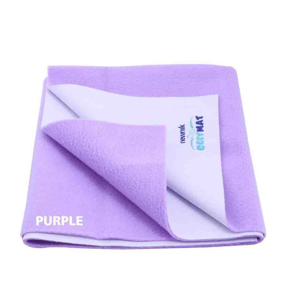Cozymat Soft, Waterproof And Reusable Fabric Small (Purple)