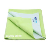 Cozymat Soft, Waterproof And Reusable Fabric Small - Lemon Green