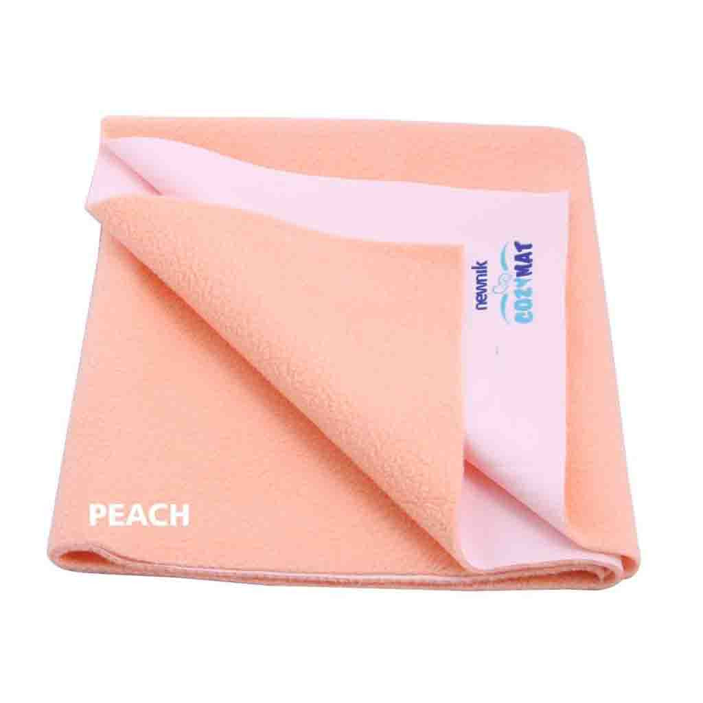 Cozymat Soft, Waterproof And Reusable Fabric Small (Peach)