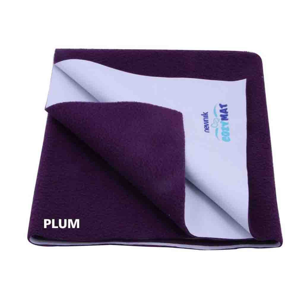 Cozymat Soft, Waterproof And Reusable Fabric Small - Plum
