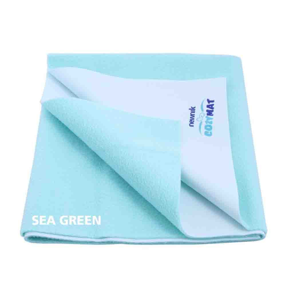 Cozymat Soft, Waterproof And Reusable Fabric Small - Sea Green