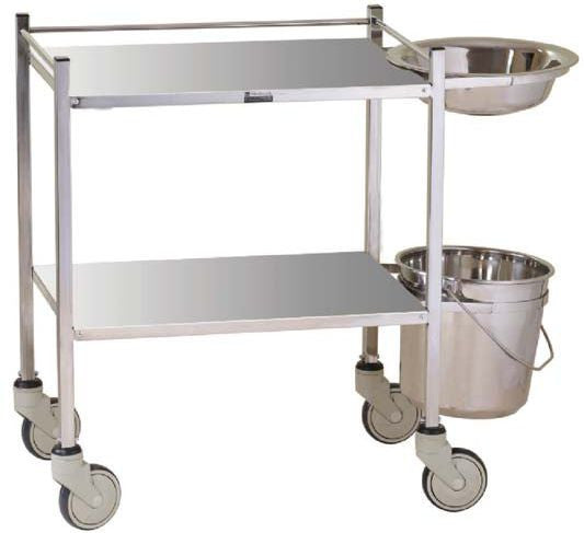 Imed Dressing Trolley With Bowl And Bucket