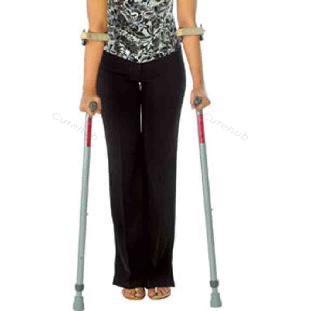 Universal Elbow Crutch With Double Folding Handle 0904 A
