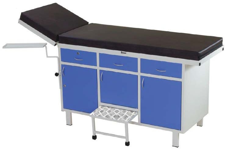 Imed Examination Couch With Back Rest-Diagnostics Care