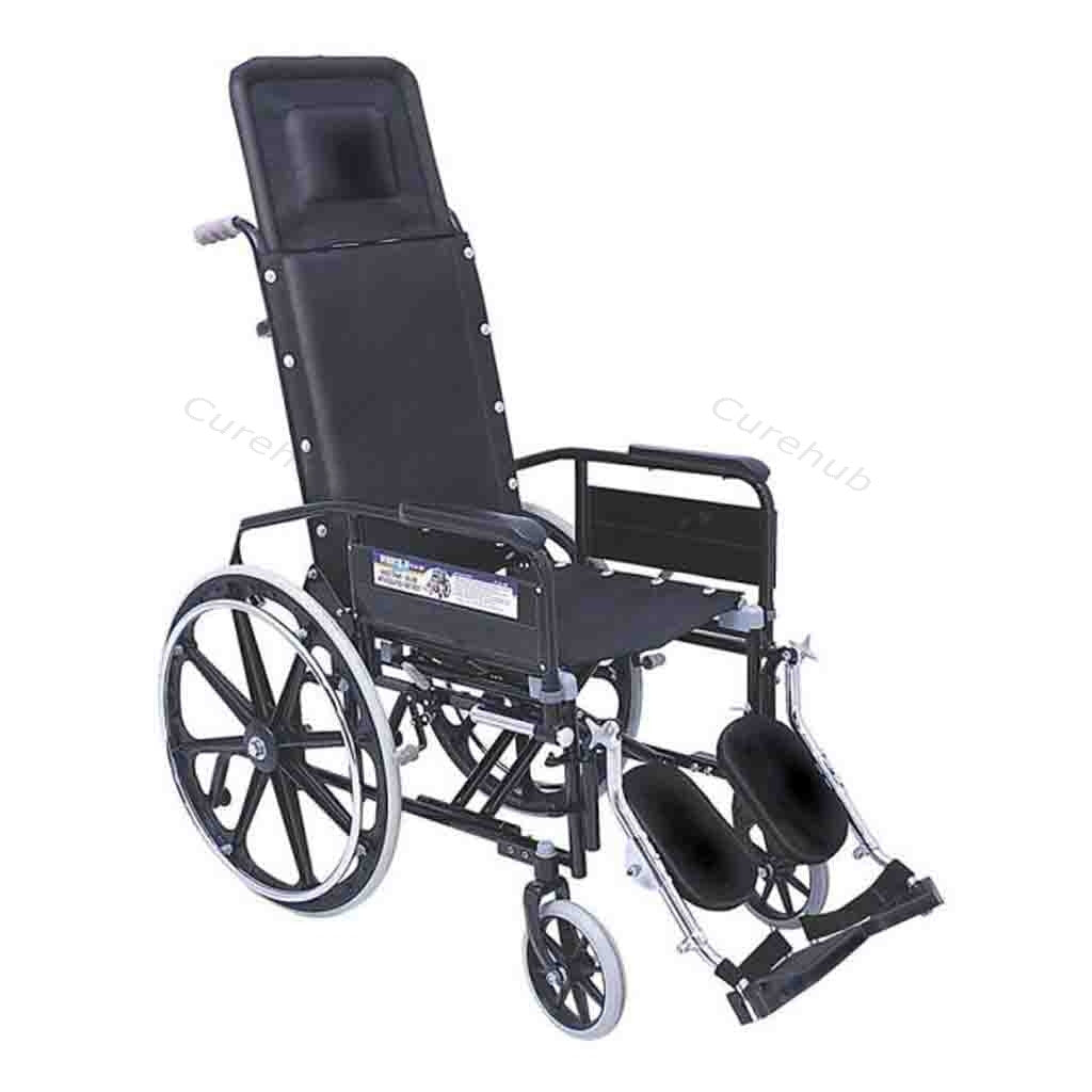 Universal Invalid Recling W Chair With Elevated Foot Rest 0993