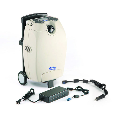 Invacare USA SOLO2 Continuous Flow & Pulse Mode Transportable Oxygen Concentrator