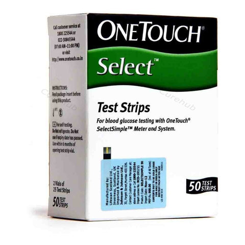 Johnson & Johnson - OneTouch Select 50 Test Strips