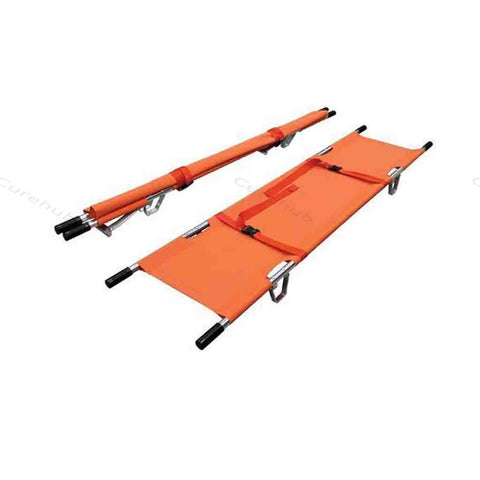 M S 2 Fold Stretcher With Belt