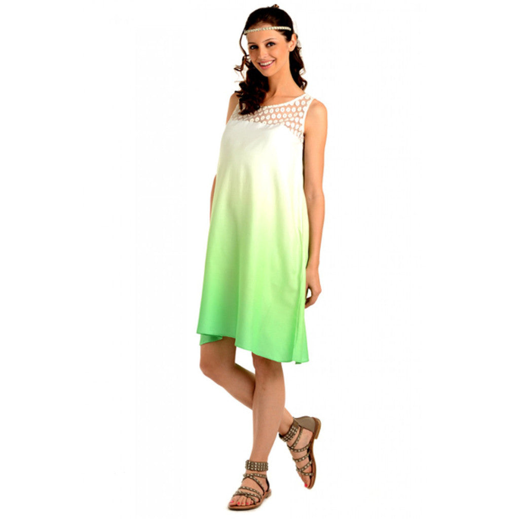 3b5f198f67b Buy Curehub Radiation Safe-House Of Napius Maternity Ombre Summer Dress -  Green -M for Maternal Care