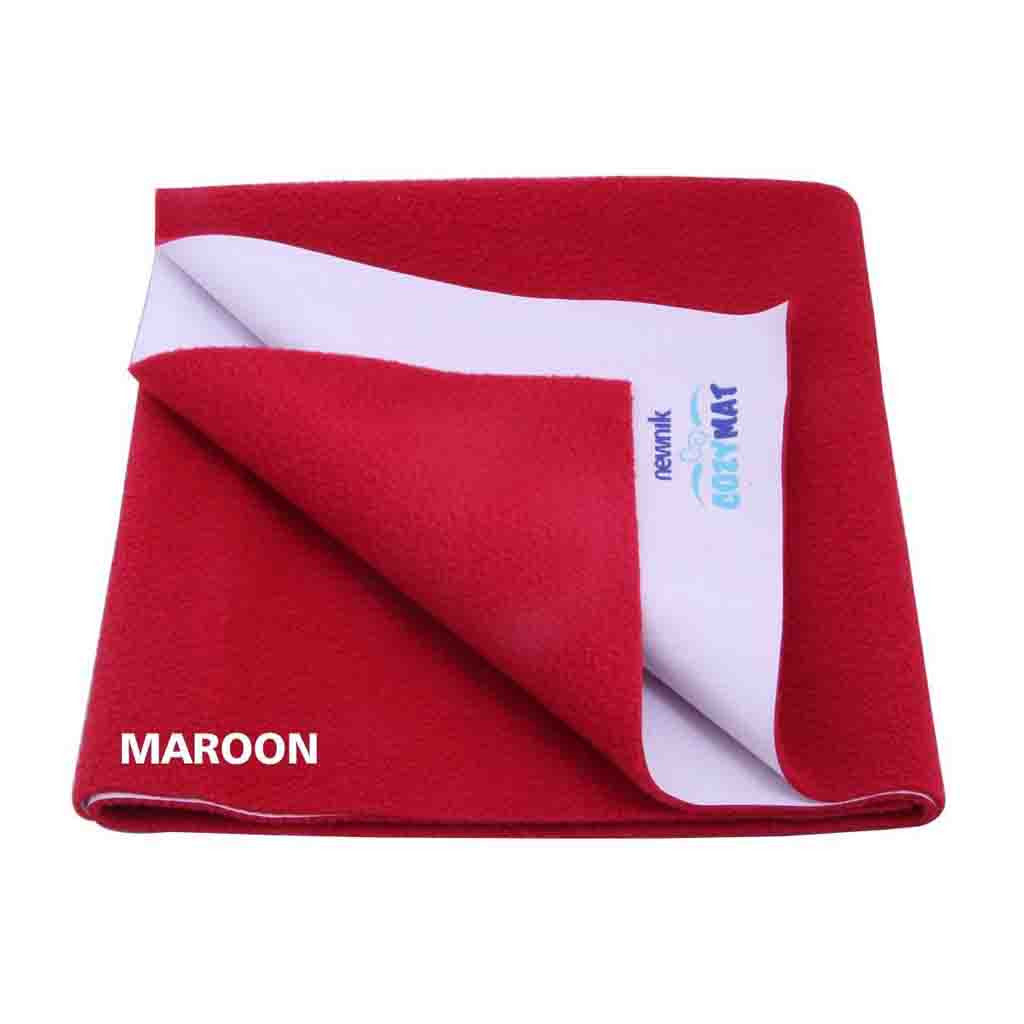Newnik Reusable Absorbent Sheets/Underpads - (Size: 70cm X 50cm) Maroon,S