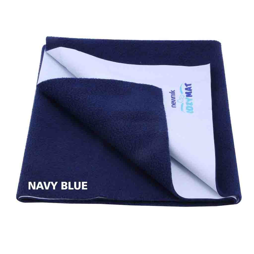 Newnik Reusable Absorbent Sheets/Underpads - (Size: 70cm X 50cm) Navy Blue, S