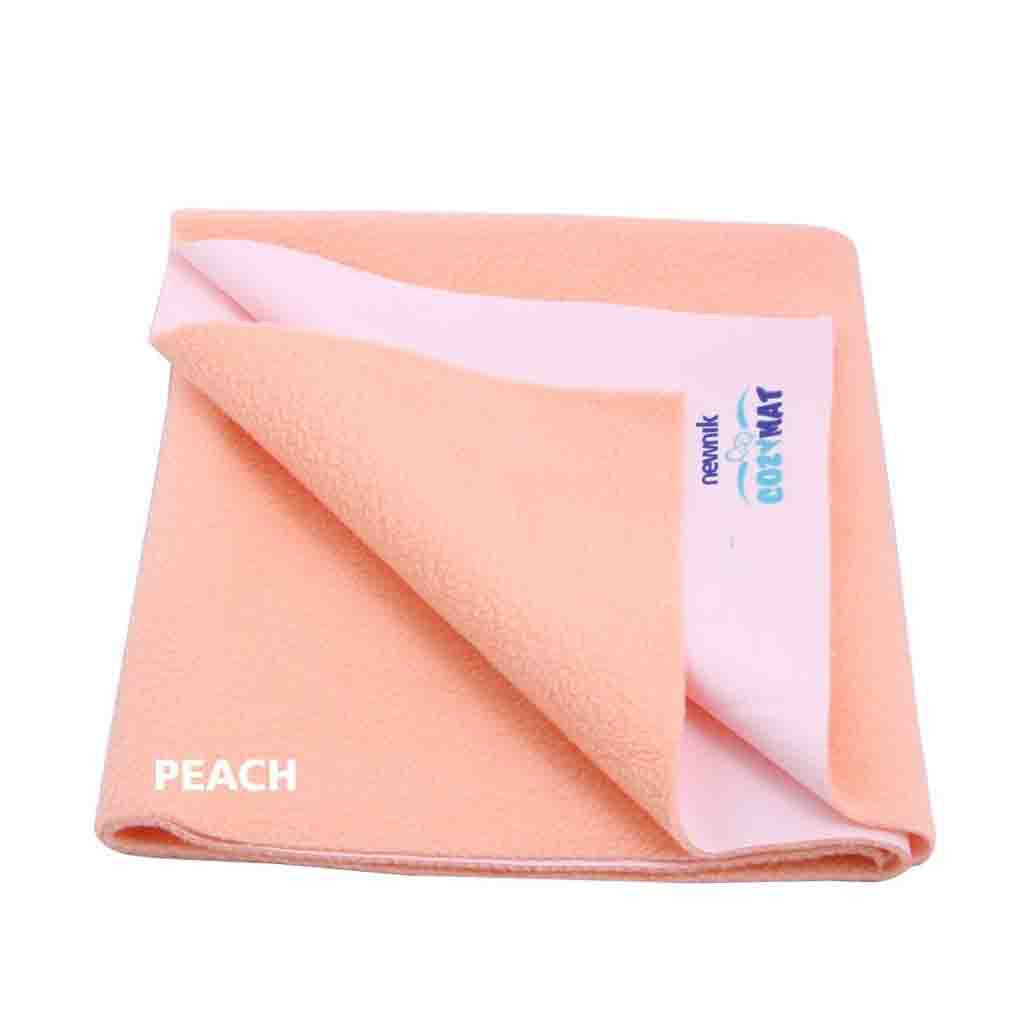 Newnik Reusable Absorbent Sheets/Underpads - (Size: 70cm X 100cm) Peach, M