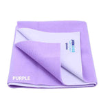 Newnik Cozymat Reusable Absorbent Sheets/Underpads - (Size: 140cm X 100cm)Purple, L